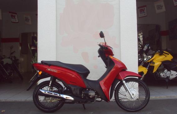 Honda Biz 100 Es Vermelha 2015