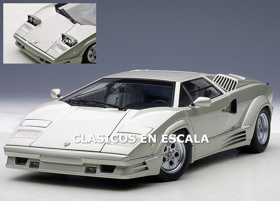 Lamborghini Countach 25th Anniv. Ultimo Counta- Autoart 1/18