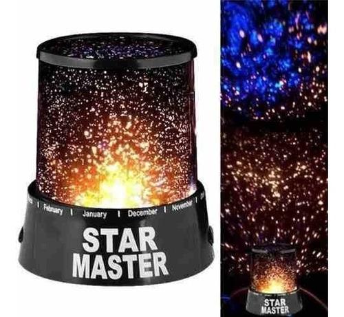 Imagen 1 de 6 de Lampara Led Colores Proyector De Estrellas Star Master H5007