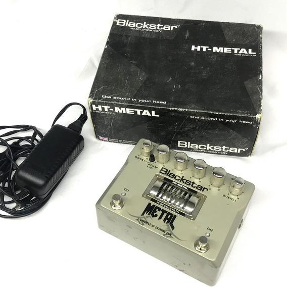 Pedal Blackstar Ht Metal Valvulado Na Caixa Com Fonte Usad0 - Fotos Reais!!