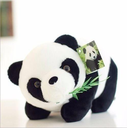 Urso De Pelúcia Panda 14 Cm Lindo