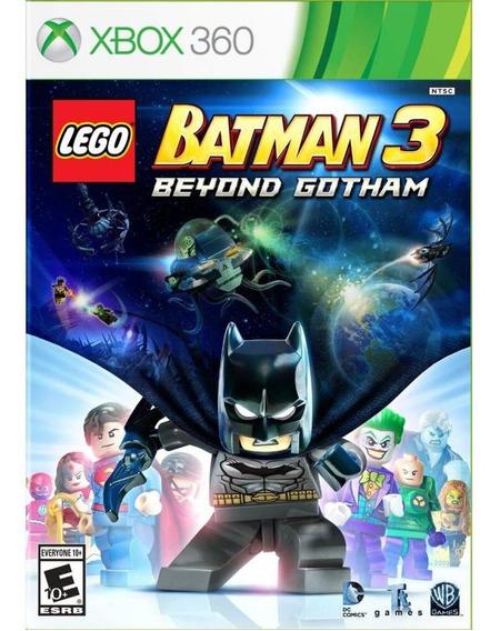 Lego Batman 3 Beyond Gotham Xbox 360 Mídia Física Novo