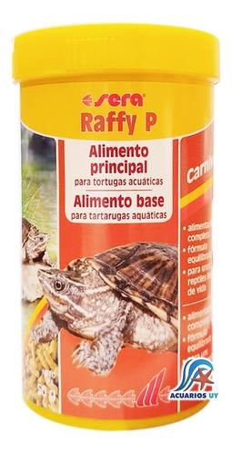 Imagen 1 de 2 de Alimento Comida Para Tortugas Acuáticas. Sera Raffy P 220g