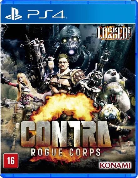 Contra Rogue Corps Ps4 Midi Fisica Lacrado + Nf