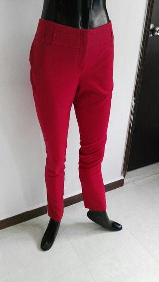 Pantalón De Vestir Rojo Talla 9 Metrópolis Company