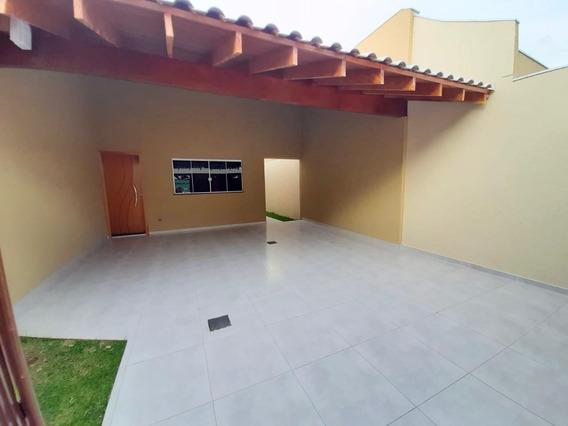 Casa Em Jardim Tijuca, Campo Grande/ms De 102m² 3 Quartos À Venda Por R$ 270.000,00 - Ca479335