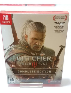 The Witcher 3 Wild Hunt Complete Edition ** Switch** Nuevo