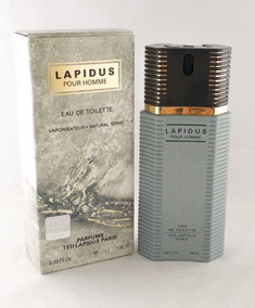 Perfume Ted Lapidus Pour Homme 100ml Edt Masc Brinde Amostra
