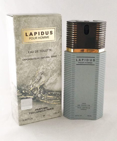 Perfume Ted Lapidus Pour Homme 100ml Edt Masc Brinde Amostra