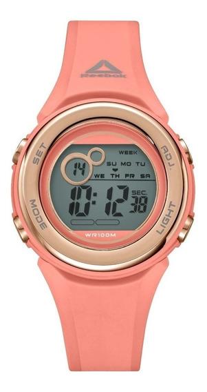 Reloj Deportivo Digital Para Mujer Reebok Coral