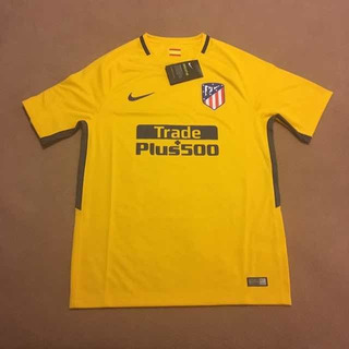 Camisa Atlético De Madrid Away 2017/18 - Nike