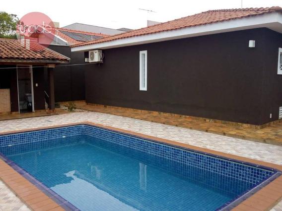 Casa Com 4 Dormitórios À Venda, 236 M² Por R$ 800.000 - City Ribeirão - Ribeirão Preto/sp - Ca2932