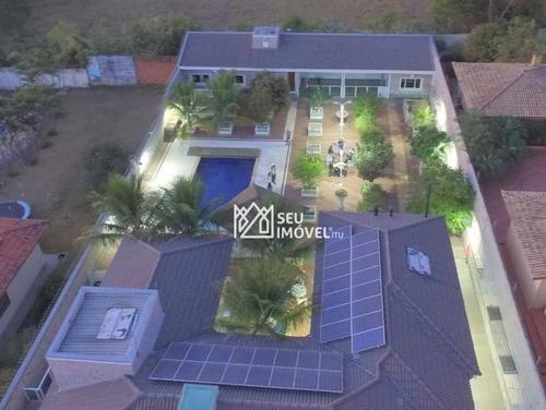 Casa Com 4 Dormitórios À Venda, 459 M² Por R$ 1.950.000,00 - Condomínio Mangueiras De Itu - Itu/sp - Ca2207