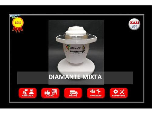 Imagen 1 de 2 de Ducha Eléctrica Baño Prolongado Diamante Mixta 110v ( 220 )