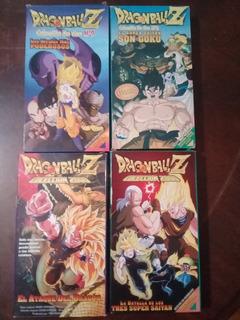 Dragon Ball Z Peliculas Vhs Originales