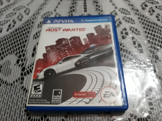 Jogo Need For Speed Most Wanted Psvita