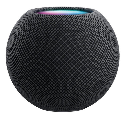 Imagen 1 de 2 de Apple HomePod Mini con asistente virtual Siri gris espacial