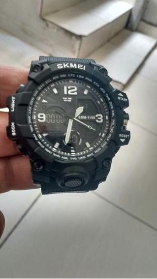 Relógio Preto Digital Esportivo Lindo Zerado