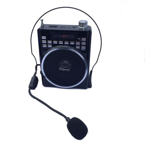 Bocina Portable Con Microfono