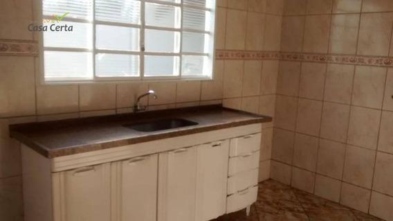 Casa Com 2 Dormitórios Para Alugar, 80 M² Por R$ 850/mês - Jardim Novo Itacolomi - Mogi Guaçu/sp - Ca1504