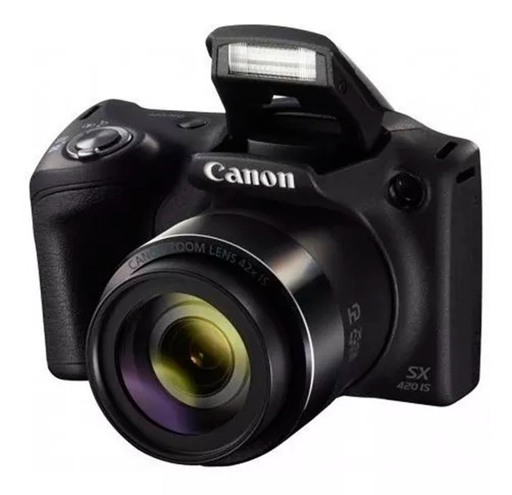 Canon Powershot Sx420 Cámara C Zoom 42x Smart Auto Wi-fi Hd