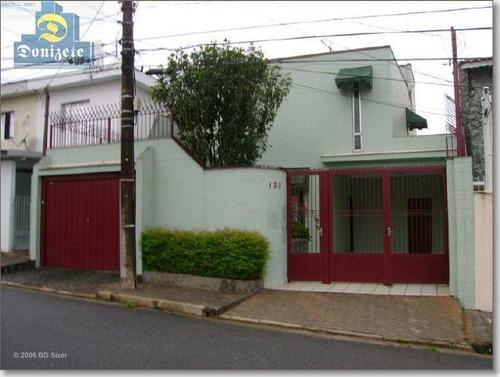 Sobrado Com 4 Dormitórios À Venda, 225 M² Por R$ 650.000,10 - Vila Apiaí - Santo André/sp - So0041