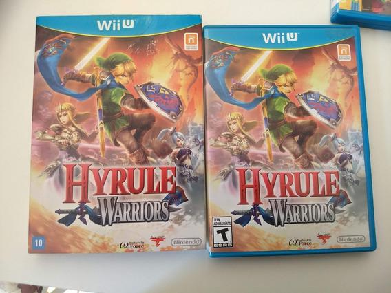 Zelda Hyrule Warriors Wii U Americano Usado Impecável Wiiu