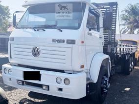 Vw 16-200 - 99/99 - Truck, Carroceria De Madeira, Reduzido