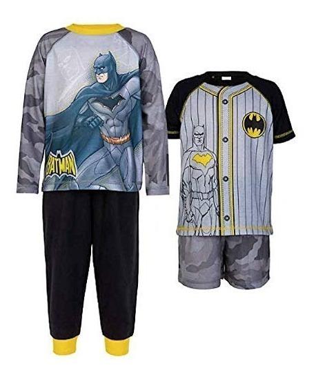 Komar Kids Batman Juego De Pijama Niños 4 Piezas