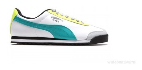 Tenis Puma Roma Basic Blanco Hombre Nuevo Original