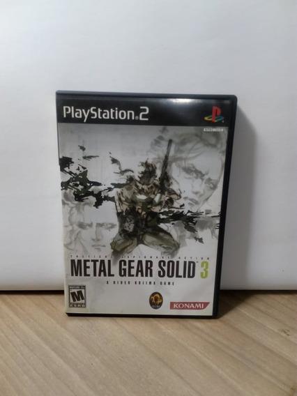 Metal Gear Solid 3 Ps2 Original Usado