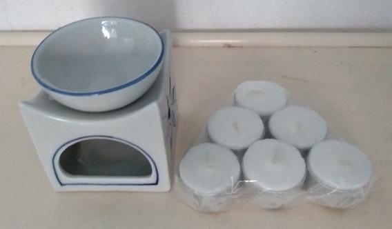 Difusor De Ceramica Just Swiss Con Velas