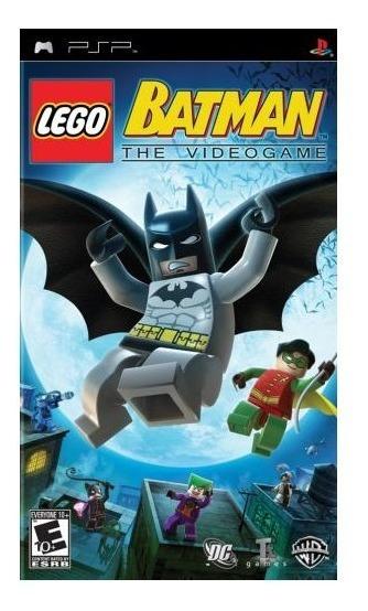 Lego Batman The Videogame - Psp - Mídia Física - Usado