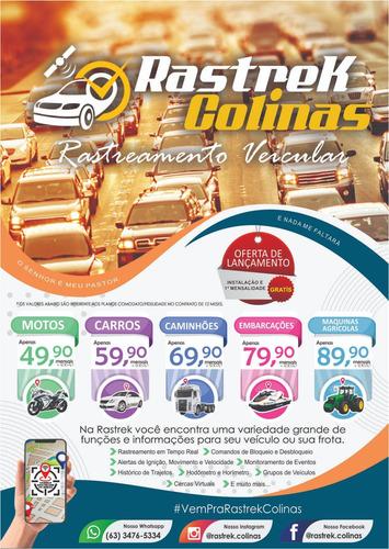 Imagem 1 de 10 de Rastrek Colinas Rastreamento Veicular  Proteção 24hs