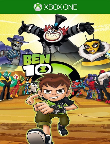 Ben 10 Xbox One - 25 Dígitos (envio Flash)