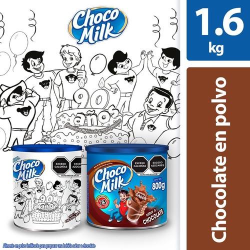 Choco Milk Colors Paquete Con 2 Latas De 800g C/u