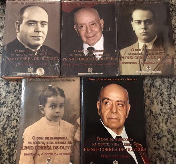 Lote 5 Livros O Dom Da Sabedoria - De Plinio Correia - Livro