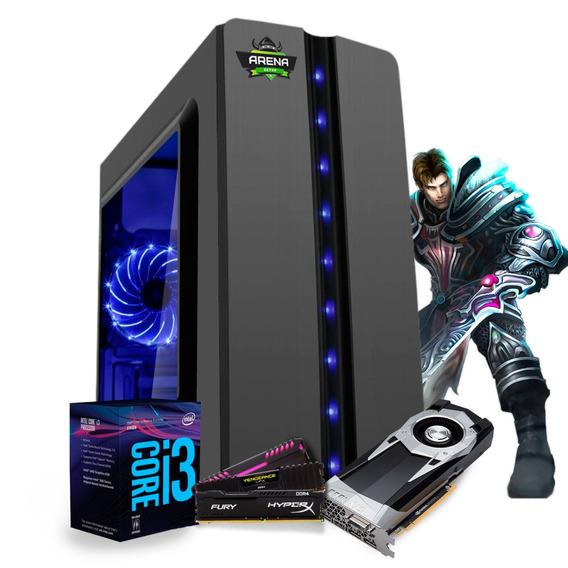 Pc Gamer I3 8100 Z370m Aorus Gaming Gtx 1060 6gb Mem 8gb