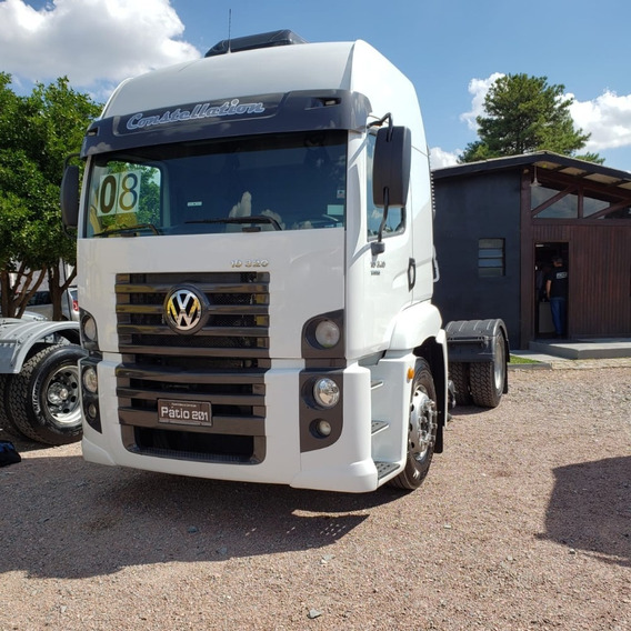 Caminhão Vw Constellation 19.320 2008 Cavalo 4x2 (toco)