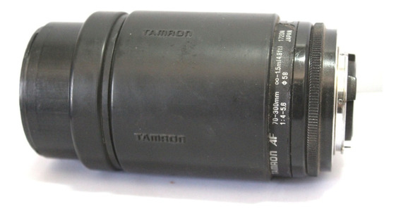 Lente Tamron 70-300mm Japan Retro Coleção Retirada De Peça