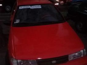 Hyundai Excel Rojo 1993 De Remate