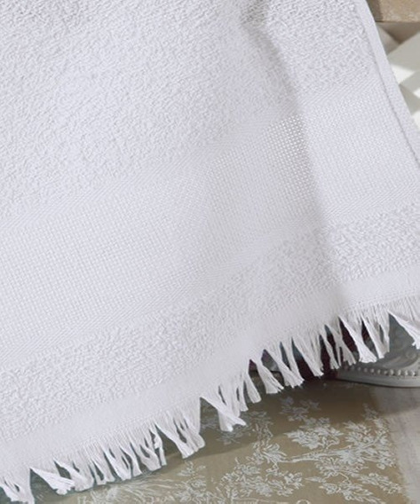 Toalhinha Branca 300 Unid / Lembrancinha Social Artesanato