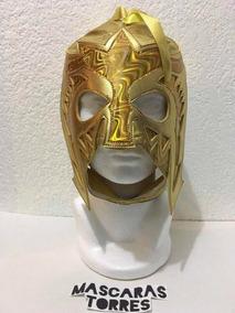 Escorpion Dorado Mascara Oro Semi Profesional Adulto