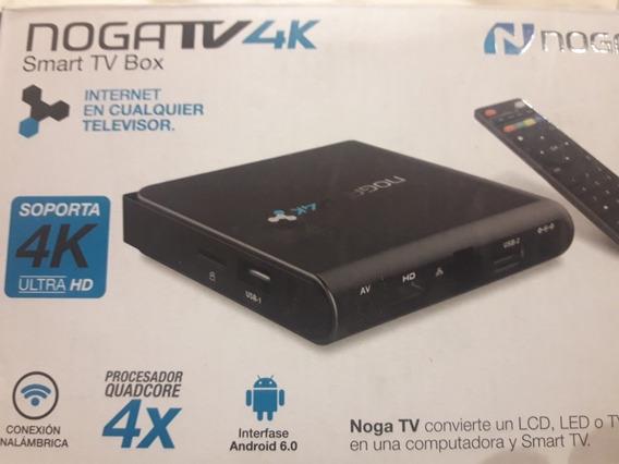 Convertidor Smart Tv Noga Tv4k Con Control