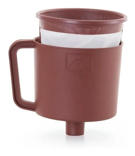 Imagem 1 de 3 de Filtro Coador Completo Com Funil P/ Café Chá Com Suporte