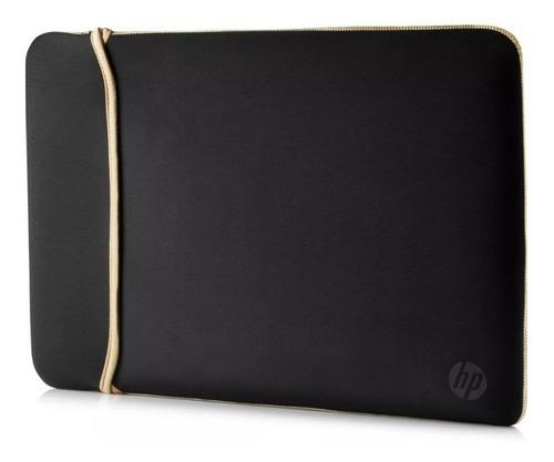 Funda Notebook Hp Reversible Negro Dorado 15.6