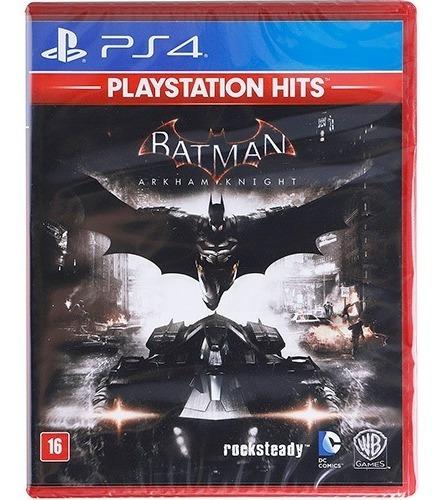 Batman Arkhan Knight - Ps4 Mídia Física Lacrado ! Dublado