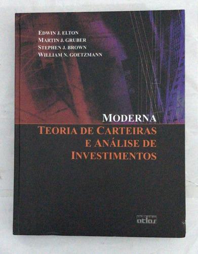 Moderna - Teoria De Carteiras E Análise De Investimentos