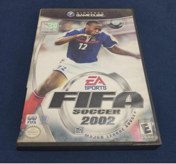 Fifa Soccer 2002 Gamecube Original Completo Com Garantia