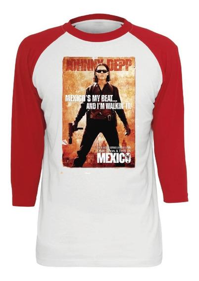 Playera Erase Una Vez En Mexico Jhonny Deep Dama O Caballero